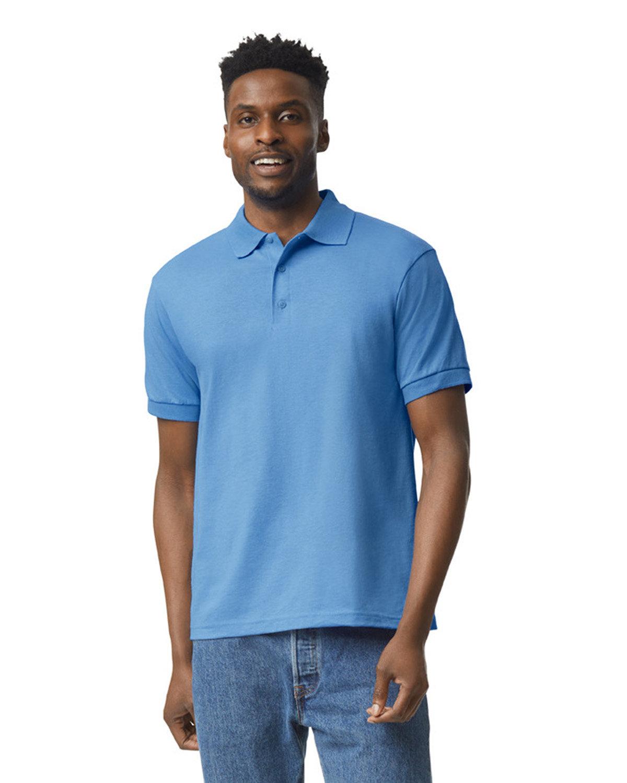 Gildan Adult 50/50 Jersey Polo CAROLINA BLUE