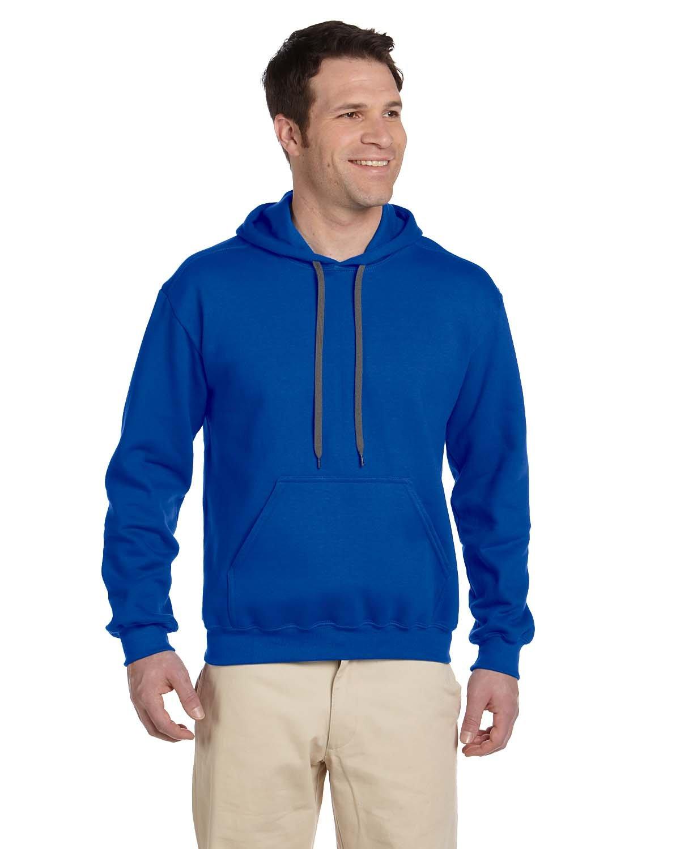 Gildan Adult Premium Cotton® Ringspun Hooded Sweatshirt ROYAL
