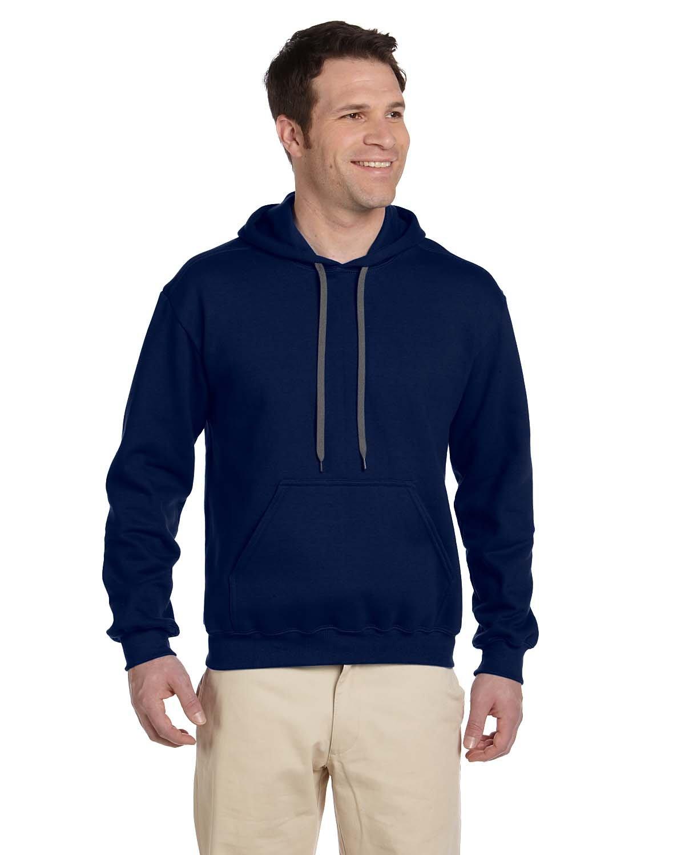 Gildan Adult Premium Cotton® Ringspun Hooded Sweatshirt NAVY