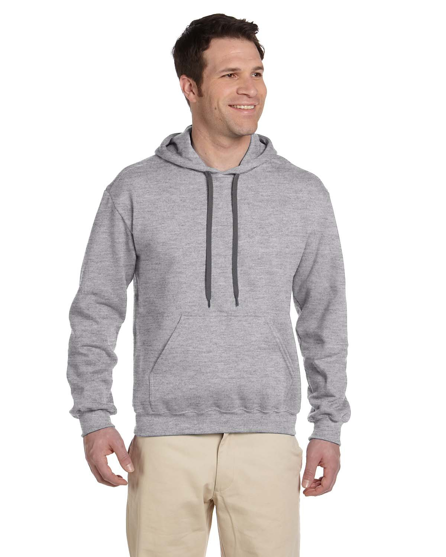 Gildan Adult Premium Cotton® Ringspun Hooded Sweatshirt RS SPORT GREY