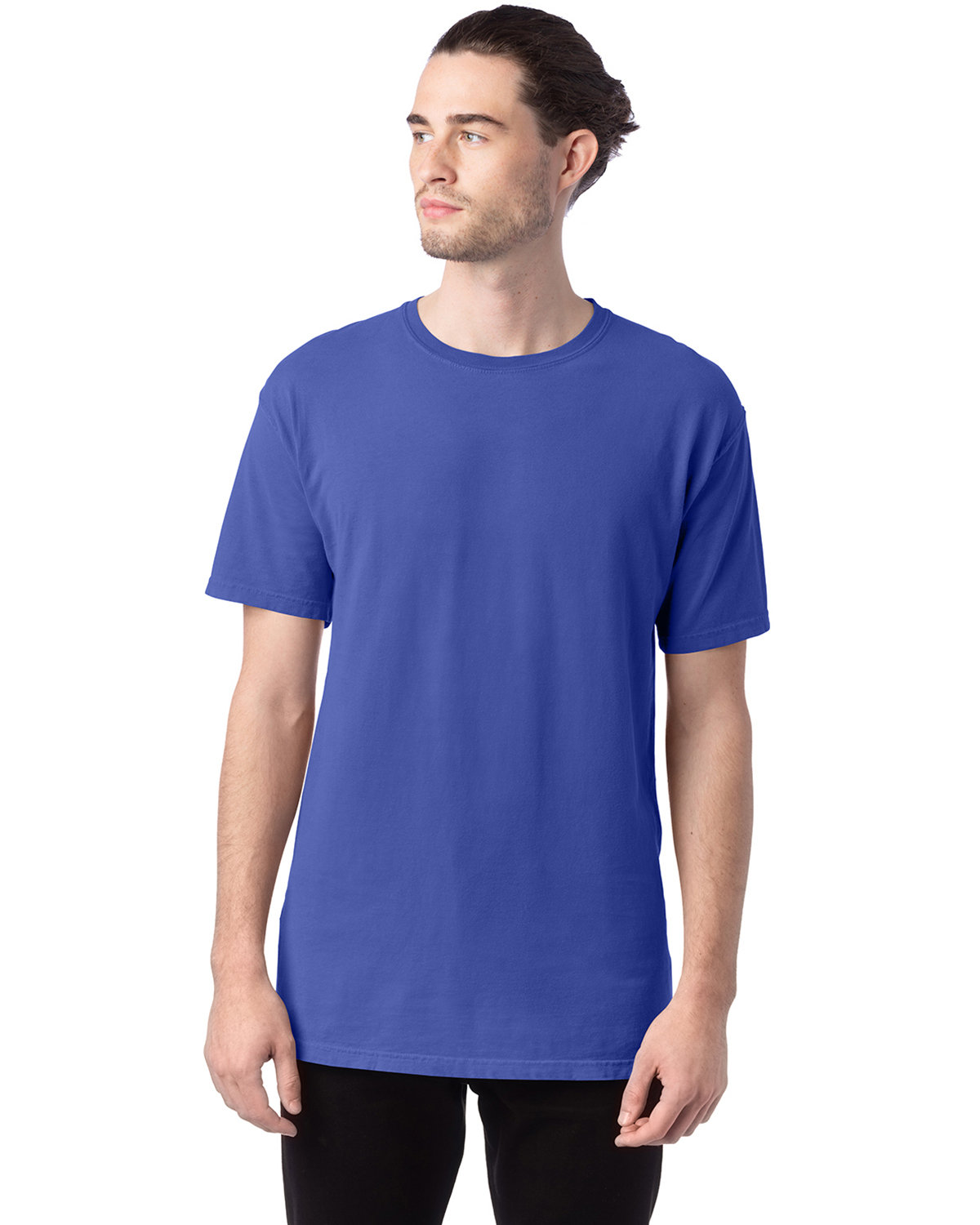 ComfortWash by Hanes Men's 5.5 oz., 100% Ringspun Cotton Garment-Dyed T-Shirt DEEP FORTE