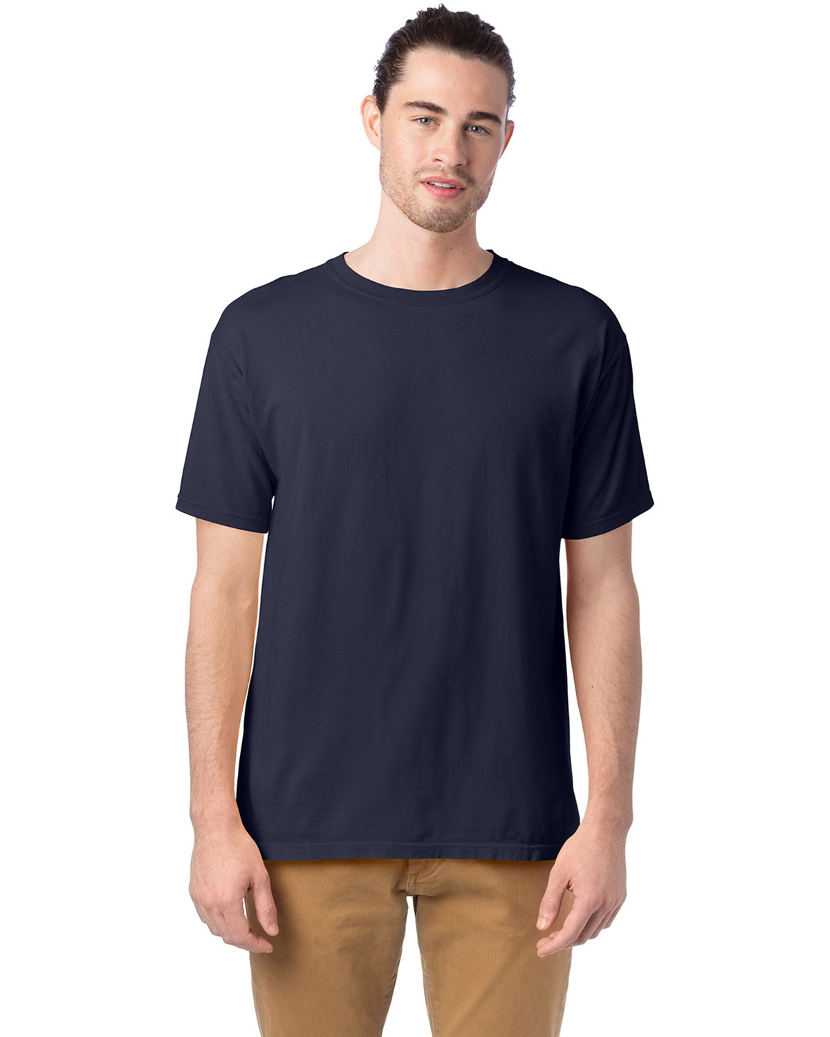 ComfortWash by Hanes Men's 5.5 oz., 100% Ringspun Cotton Garment-Dyed T-Shirt ANCHOR SLATE