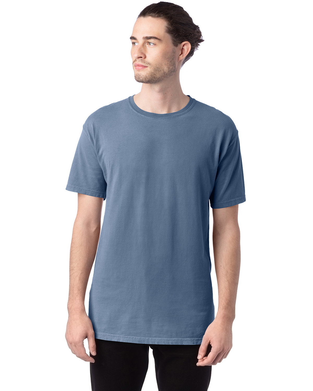 ComfortWash by Hanes Men's 5.5 oz., 100% Ringspun Cotton Garment-Dyed T-Shirt SALTWATER