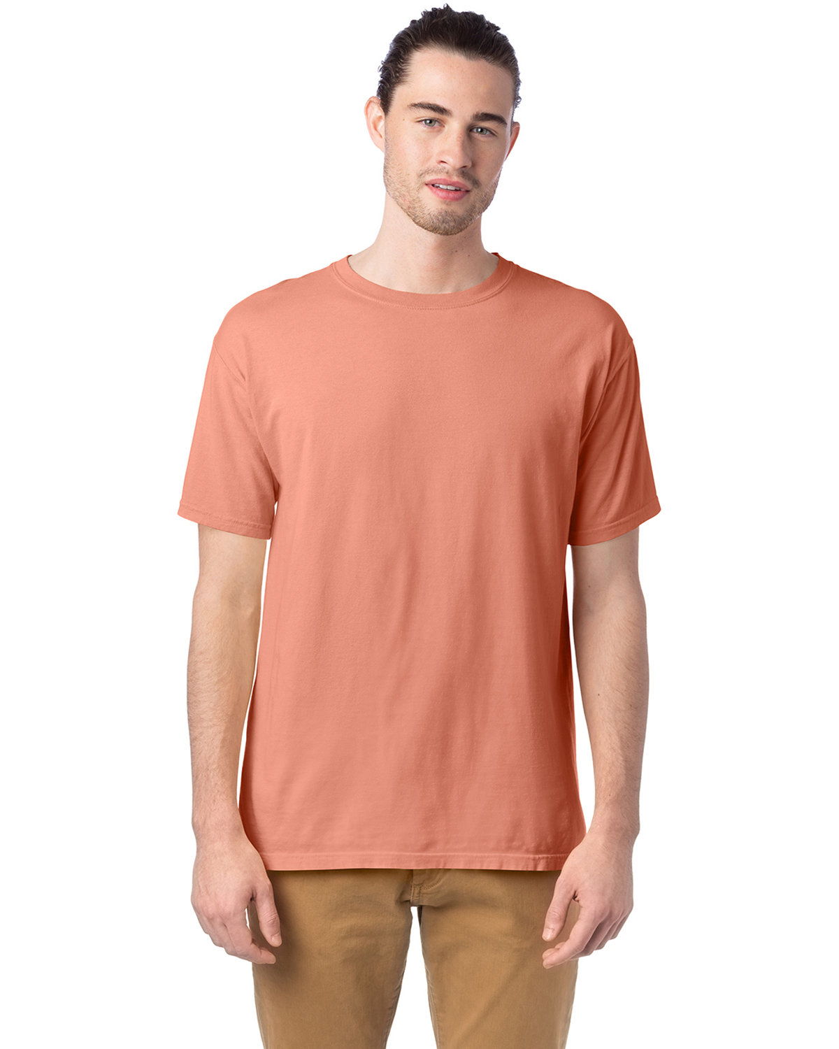 ComfortWash by Hanes Men's Garment-Dyed T-Shirt CLAY