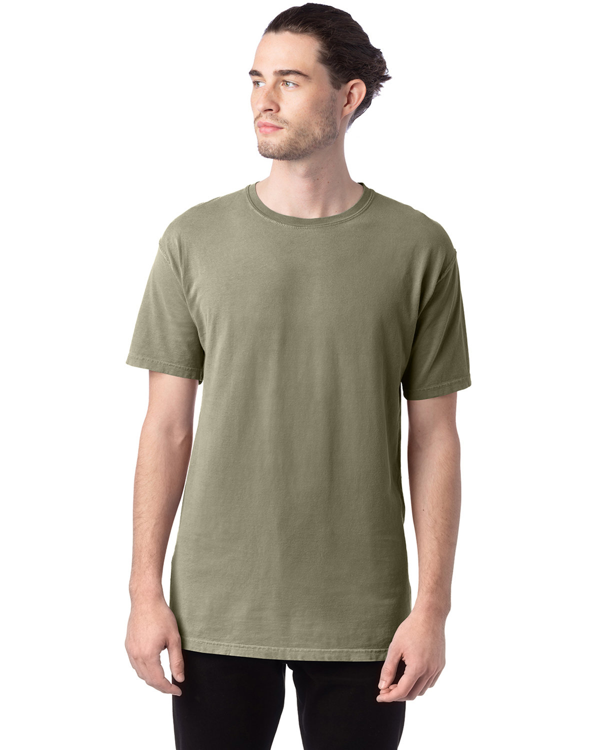 ComfortWash by Hanes Men's Garment-Dyed T-Shirt FADED FATIGUE