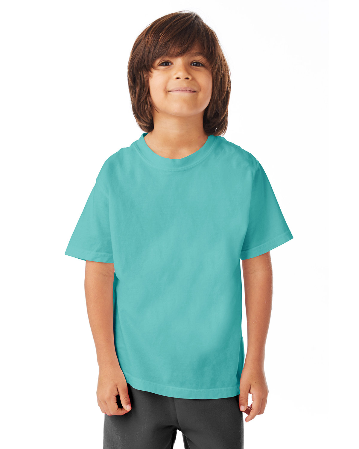 ComfortWash by Hanes Youth Garment-Dyed T-Shirt MINT