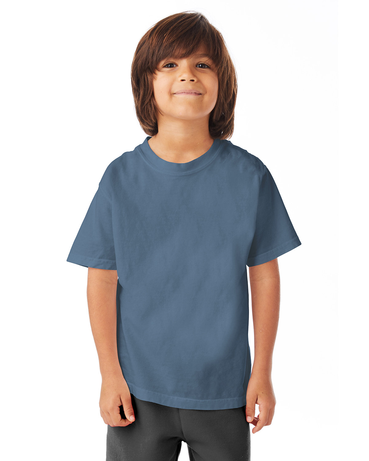 ComfortWash by Hanes Youth Garment-Dyed T-Shirt SALTWATER