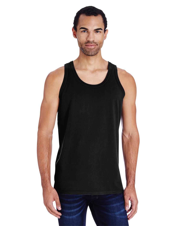 ComfortWash by Hanes Unisex Garment-Dyed Tank BLACK