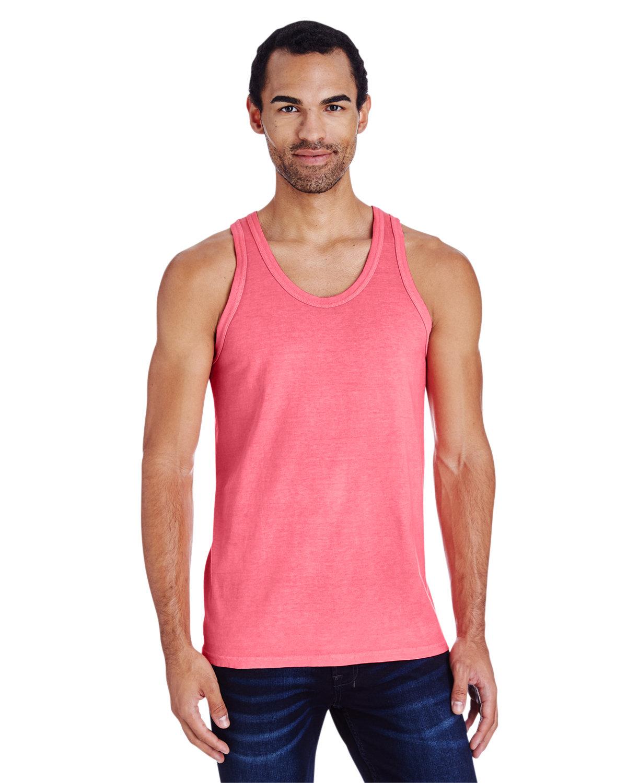 ComfortWash by Hanes Unisex Garment-Dyed Tank CORAL CRAZE