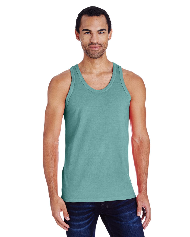 ComfortWash by Hanes Unisex Garment-Dyed Tank CYPRESS GREEN