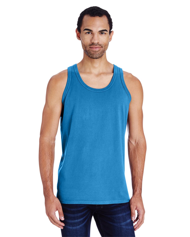 ComfortWash by Hanes Unisex Garment-Dyed Tank SUMMER SKY