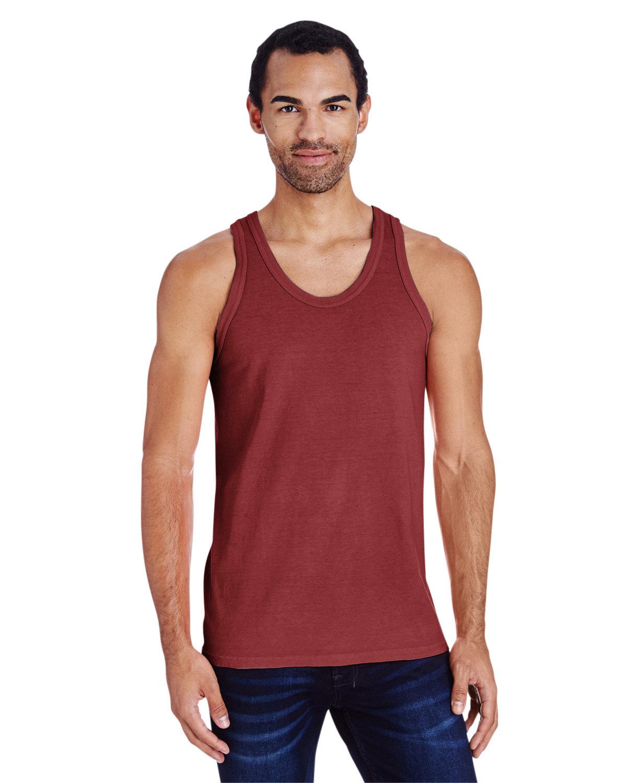 ComfortWash by Hanes Unisex Garment-Dyed Tank CAYENNE