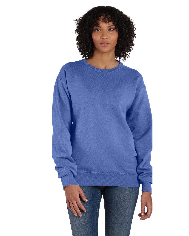 ComfortWash by Hanes Unisex 7.2 oz., 80/20 Crew Sweatshirt DEEP FORTE