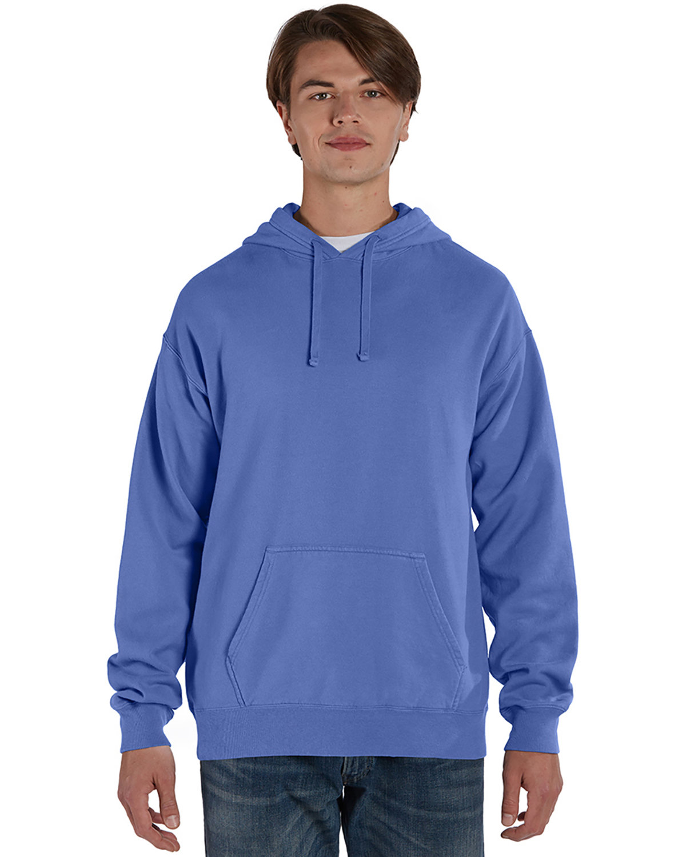ComfortWash by Hanes Unisex Pullover Hooded Sweatshirt DEEP FORTE