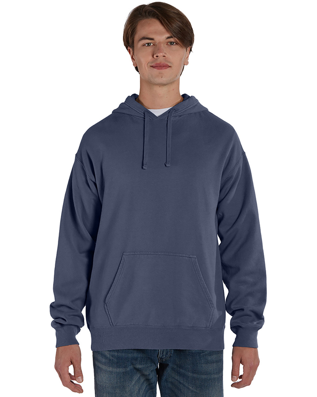ComfortWash by Hanes Unisex Pullover Hooded Sweatshirt ANCHOR SLATE