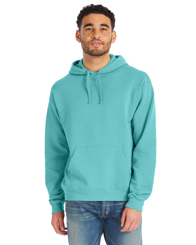 ComfortWash by Hanes Unisex Pullover Hooded Sweatshirt MINT