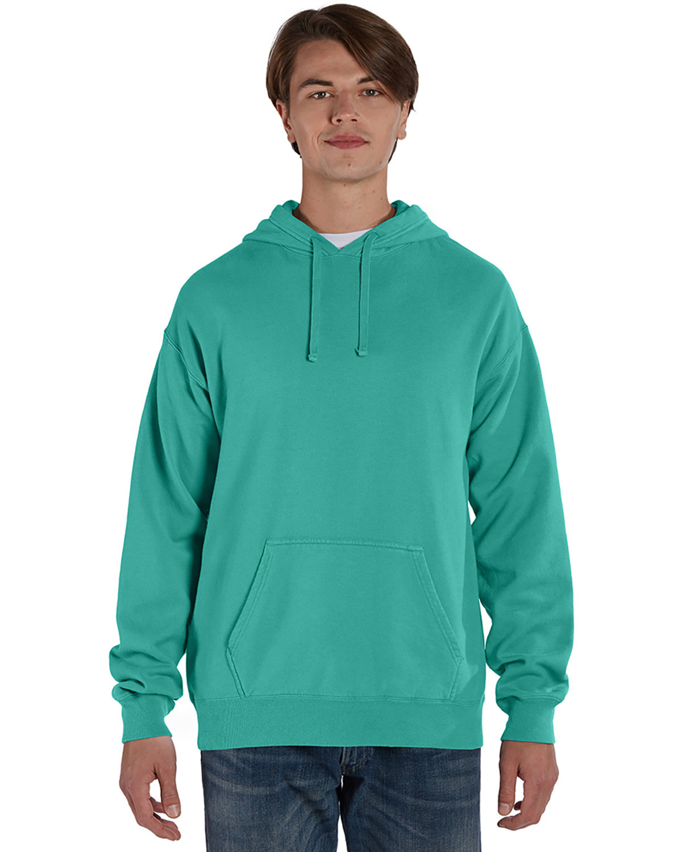 ComfortWash by Hanes Unisex Pullover Hooded Sweatshirt SPANISH MOSS