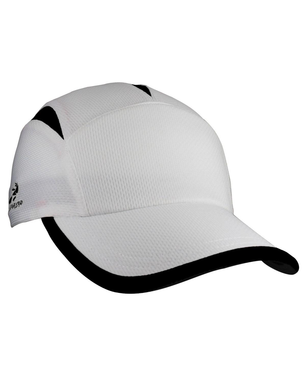 Headsweats Unisex Knit Go Hat WHITE/ BLACK