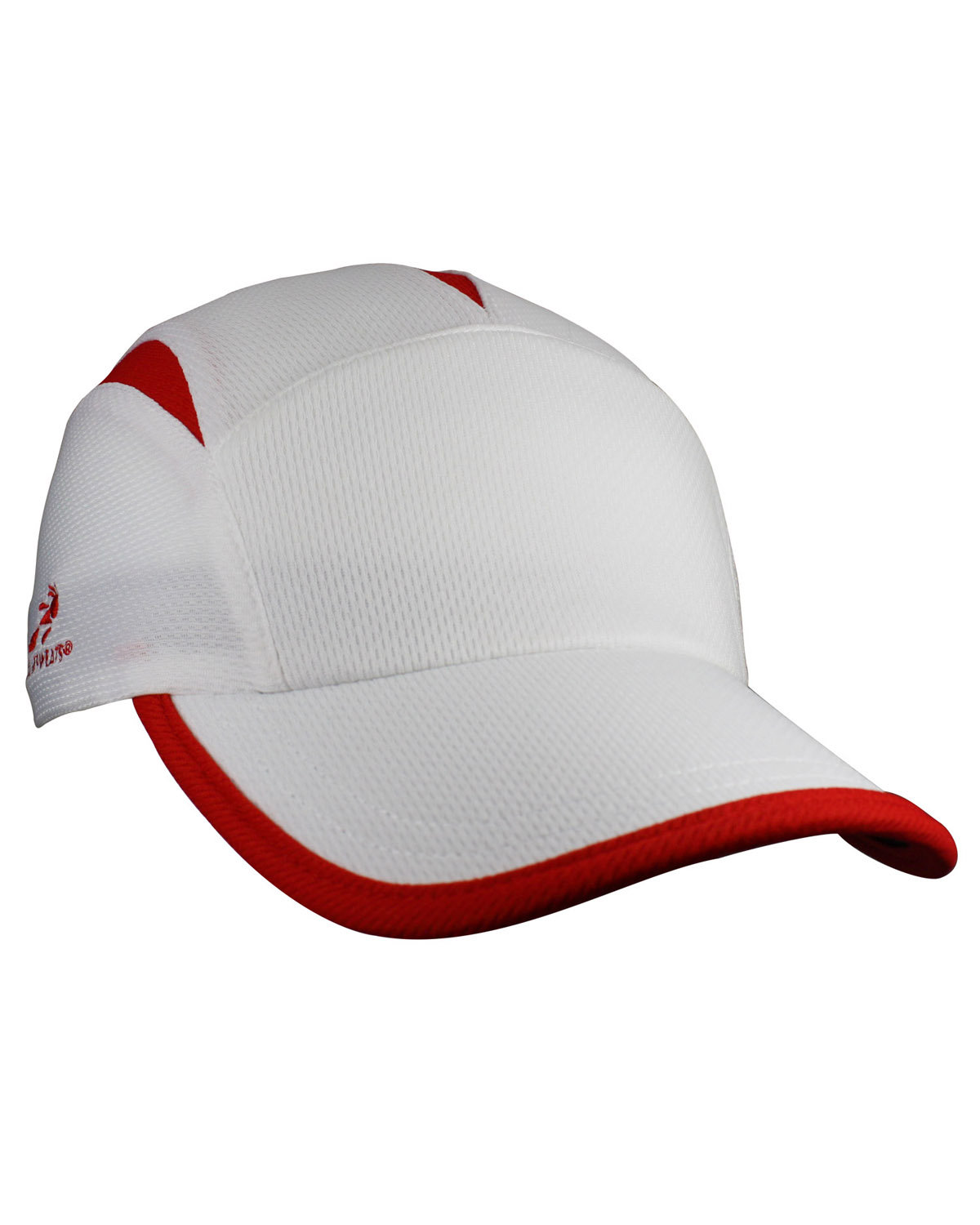 Headsweats Unisex Knit Go Hat WHITE/ RED