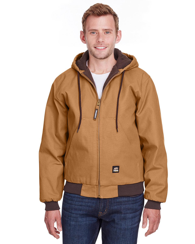Berne Men's Berne Heritage Hooded Jacket BROWN DUCK