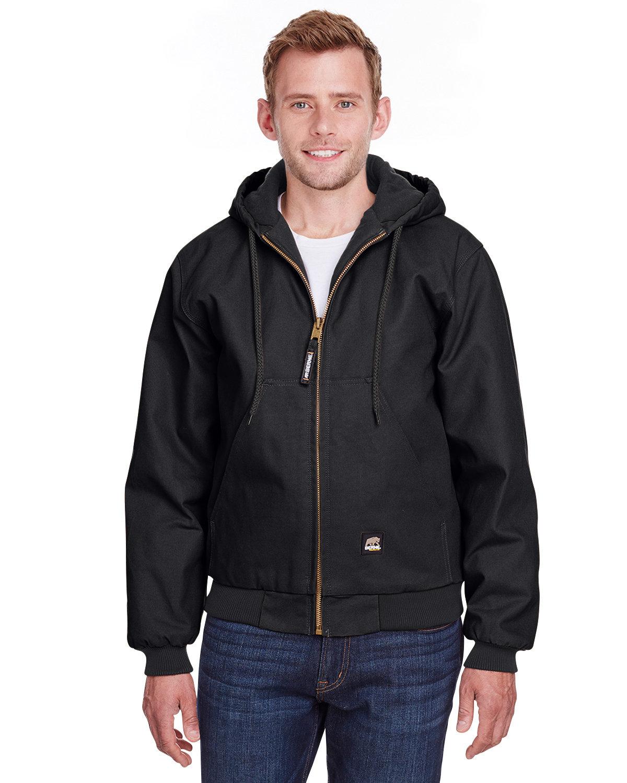 Berne Men's Berne Heritage Hooded Jacket BLACK