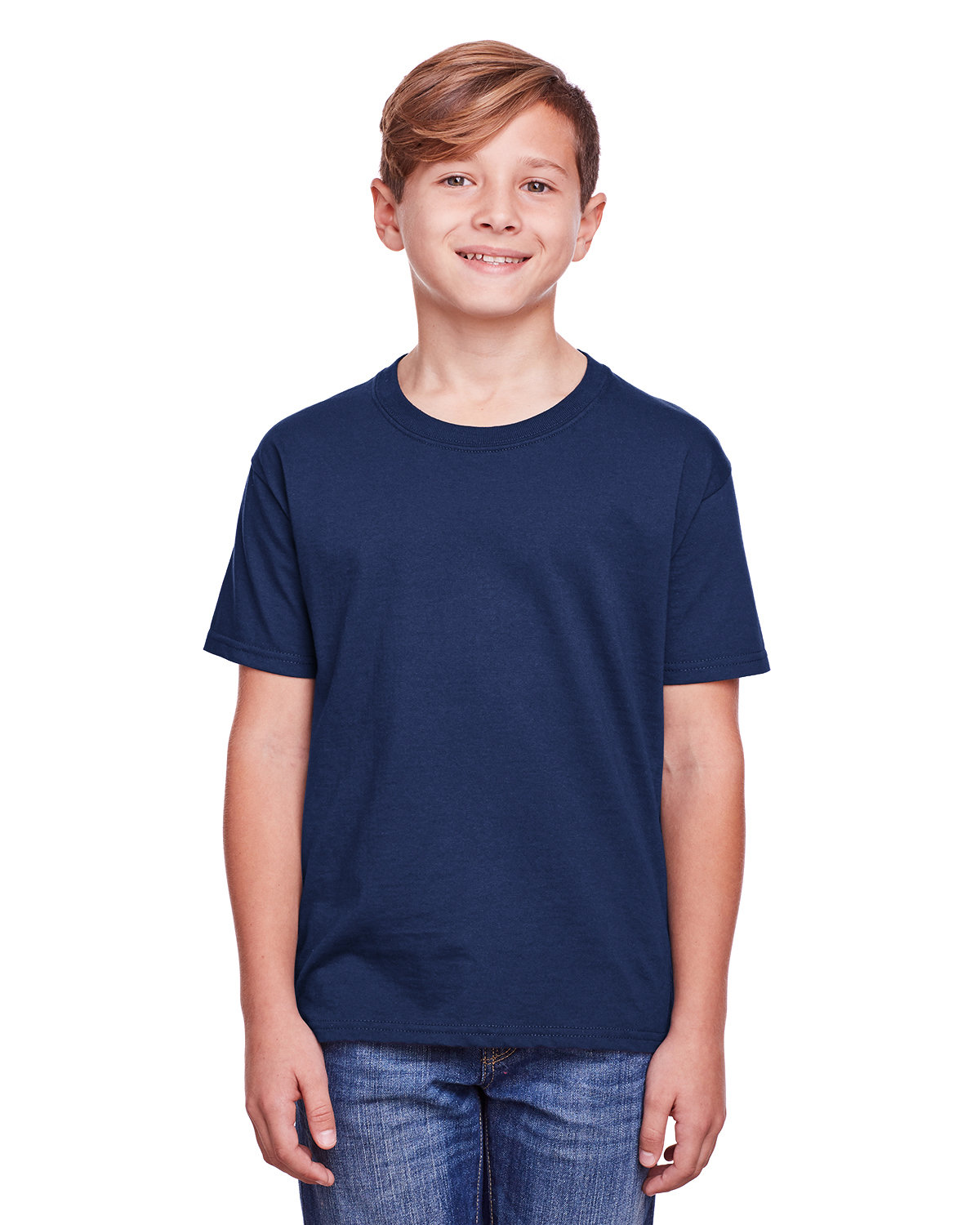 Fruit of the Loom Youth ICONIC™ T-Shirt J NAVY