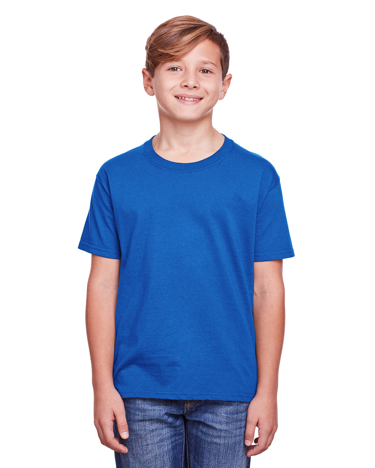 Fruit of the Loom Youth ICONIC™ T-Shirt ROYAL