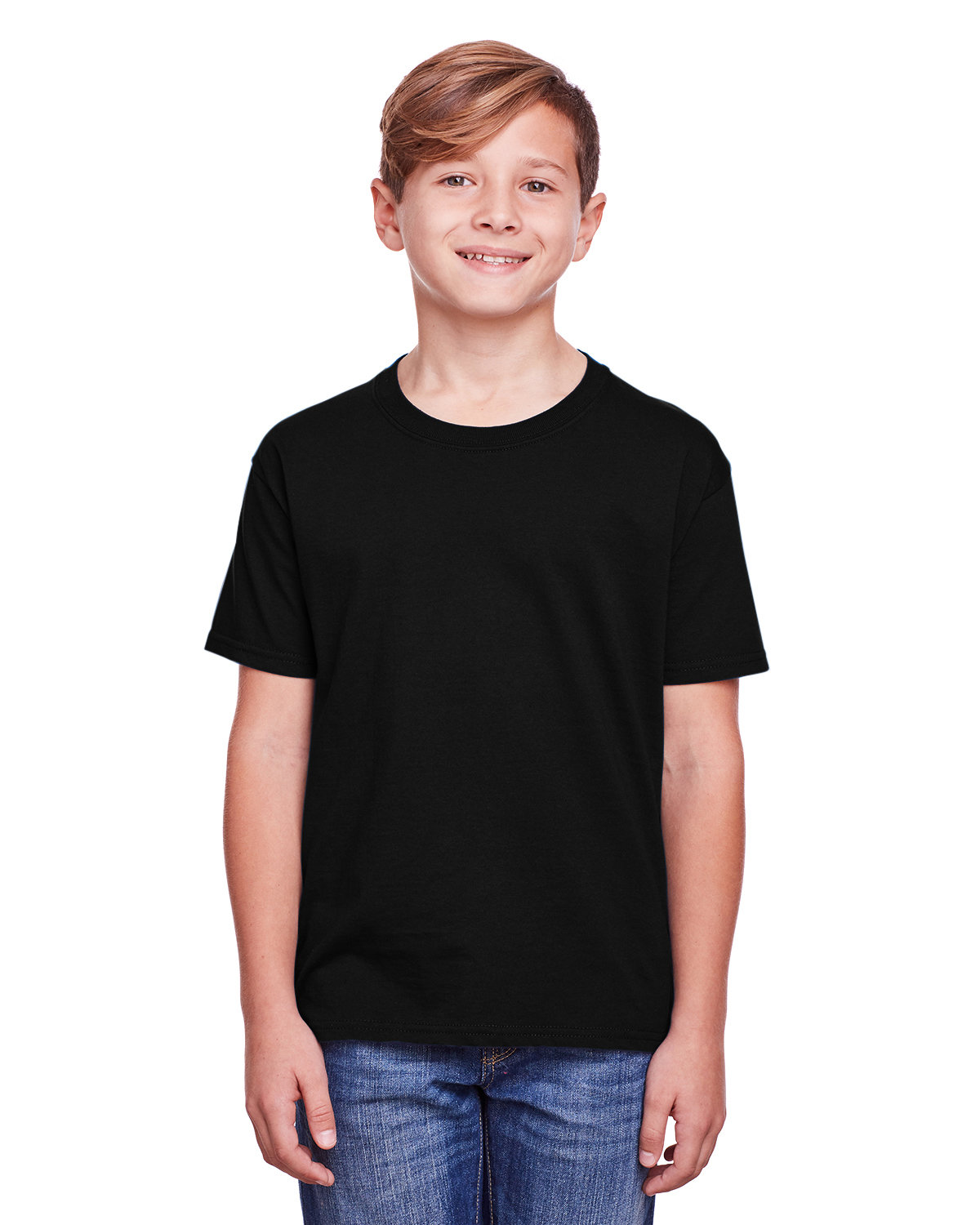 Fruit of the Loom Youth ICONIC™ T-Shirt BLACK INK