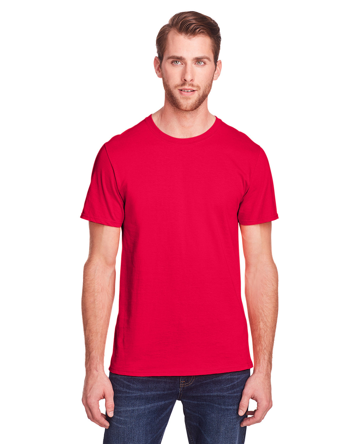 Fruit of the Loom Adult ICONIC™ T-Shirt TRUE RED