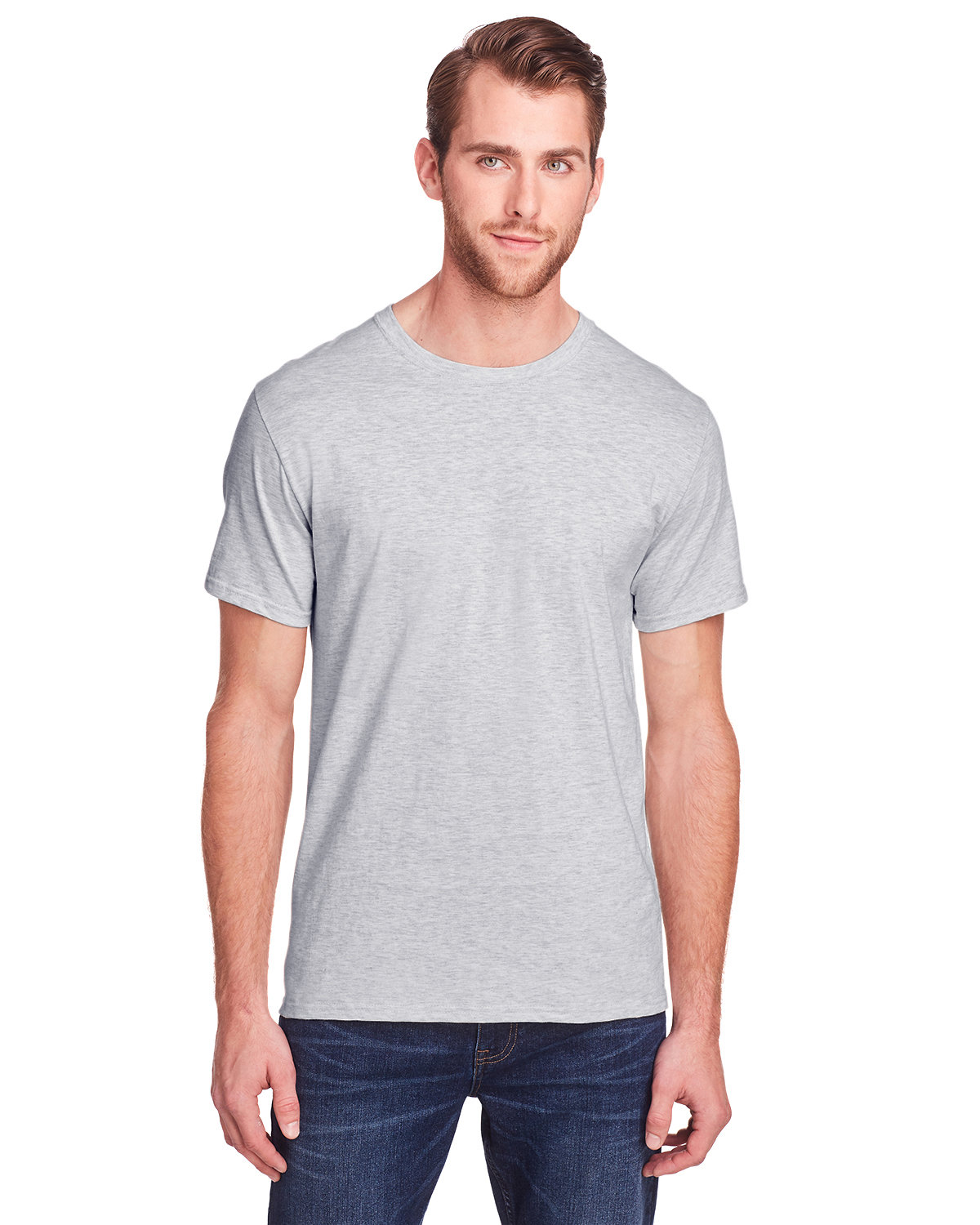Fruit of the Loom Adult ICONIC™ T-Shirt ATHLETIC HEATHER