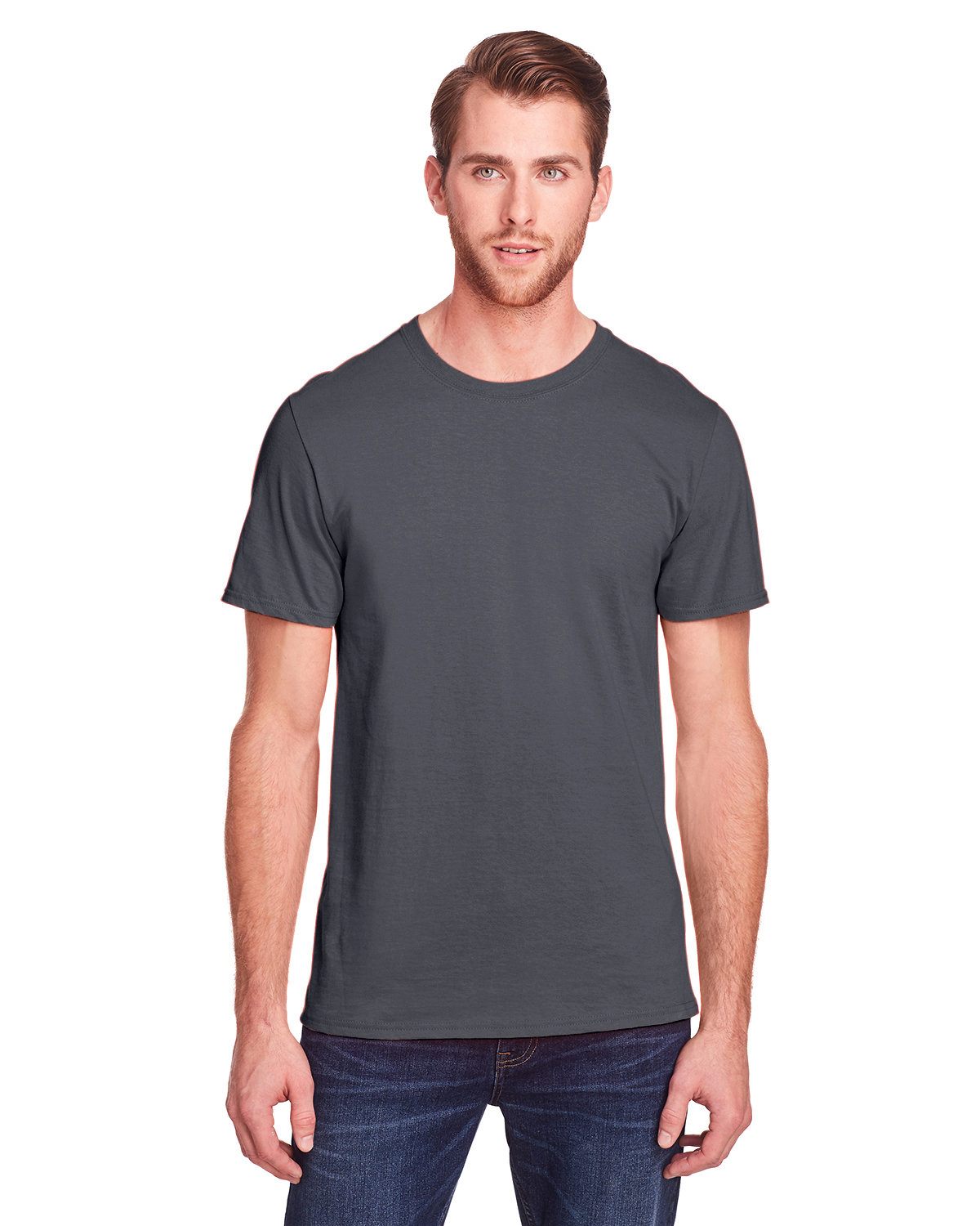 Fruit of the Loom Adult ICONIC™ T-Shirt CHARCOAL GREY