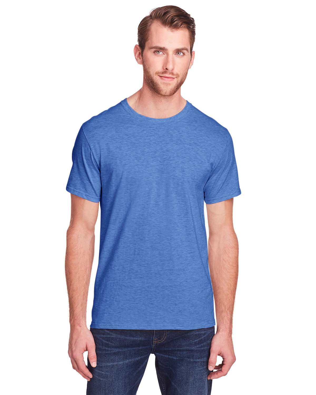 Fruit of the Loom Adult ICONIC™ T-Shirt RETRO HTH ROYAL
