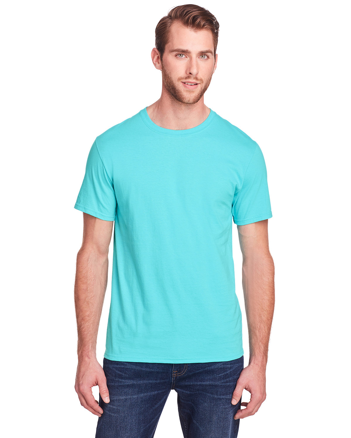 Fruit of the Loom Adult ICONIC™ T-Shirt SCUBA BLUE
