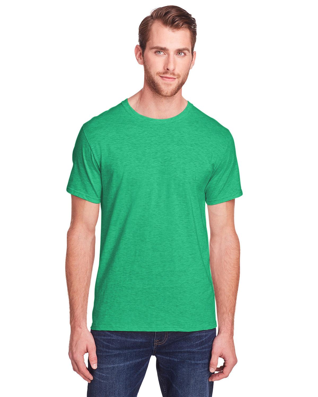 Fruit of the Loom Adult ICONIC™ T-Shirt IRISH GREEN HTHR