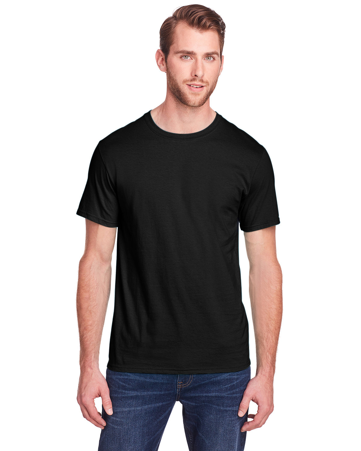 Fruit of the Loom Adult ICONIC™ T-Shirt BLACK INK