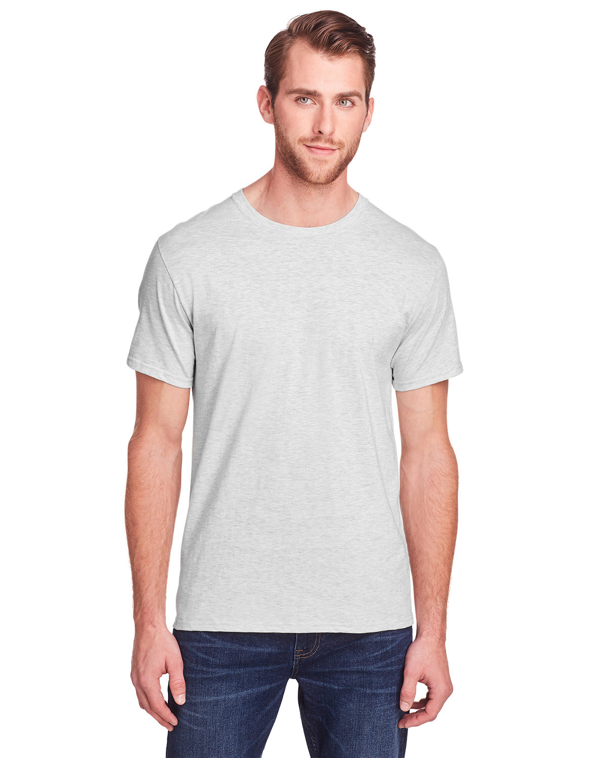Fruit of the Loom Adult ICONIC™ T-Shirt OATMEAL HEATHER
