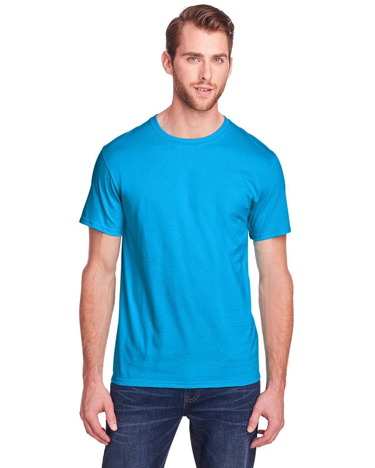 Fruit of the Loom Adult ICONIC™ T-Shirt PACIFIC BLUE