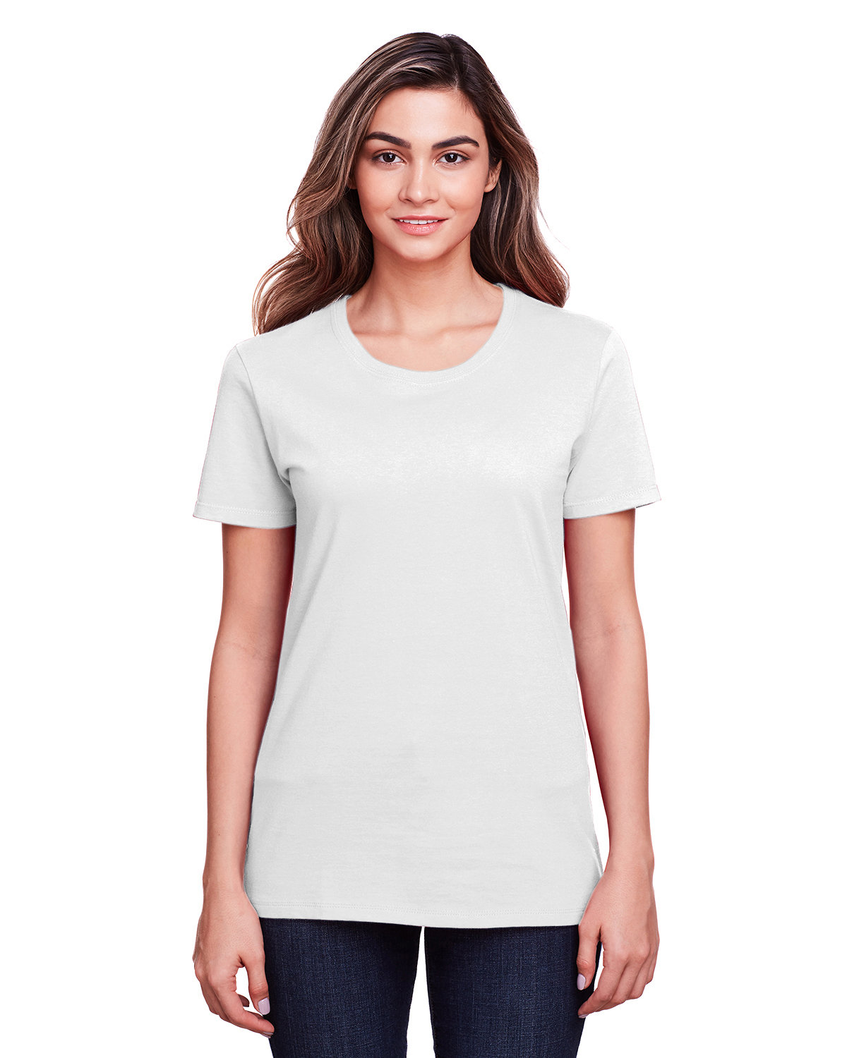 Fruit of the Loom Ladies' ICONIC™ T-Shirt WHITE