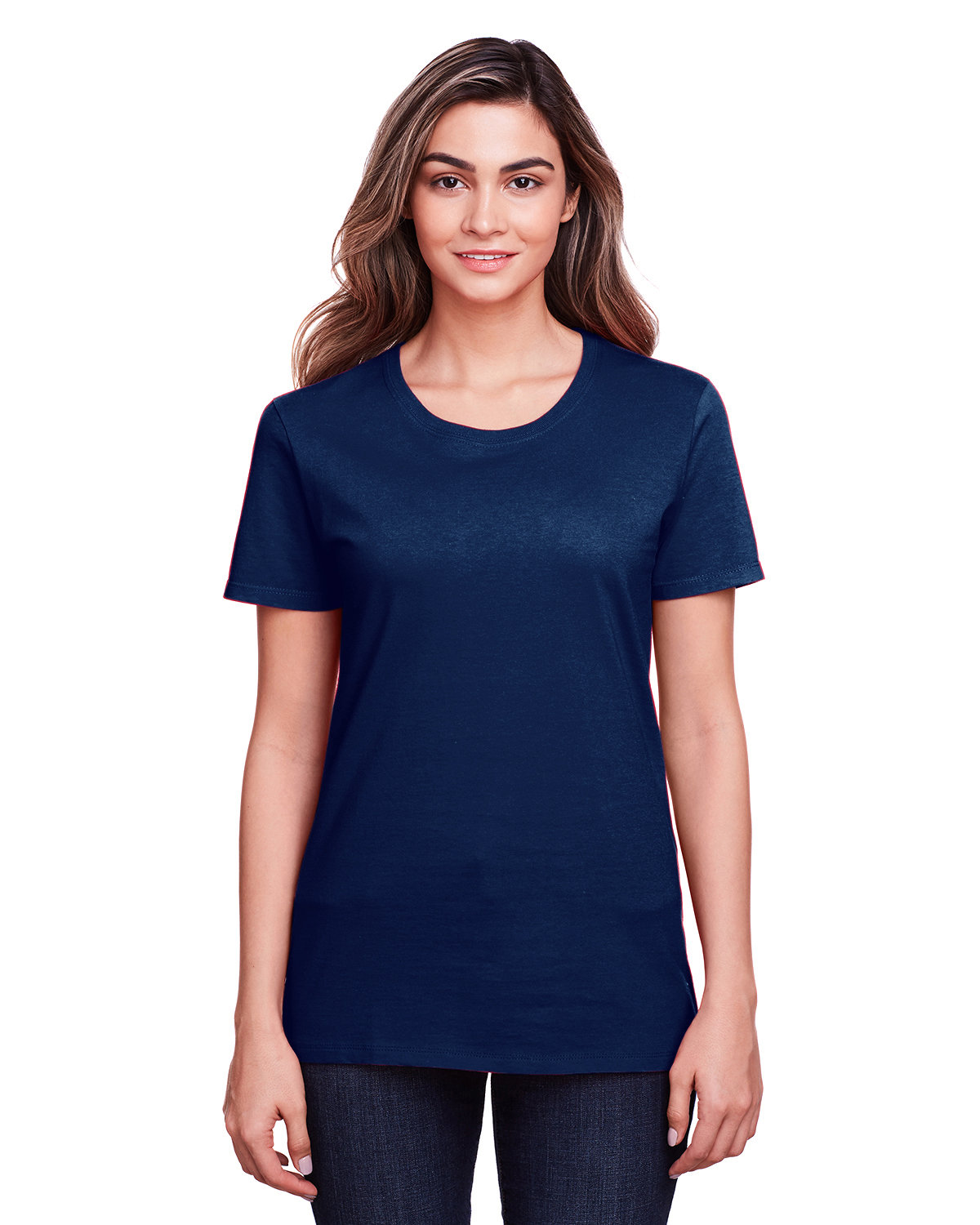 Fruit of the Loom Ladies' ICONIC™ T-Shirt J NAVY