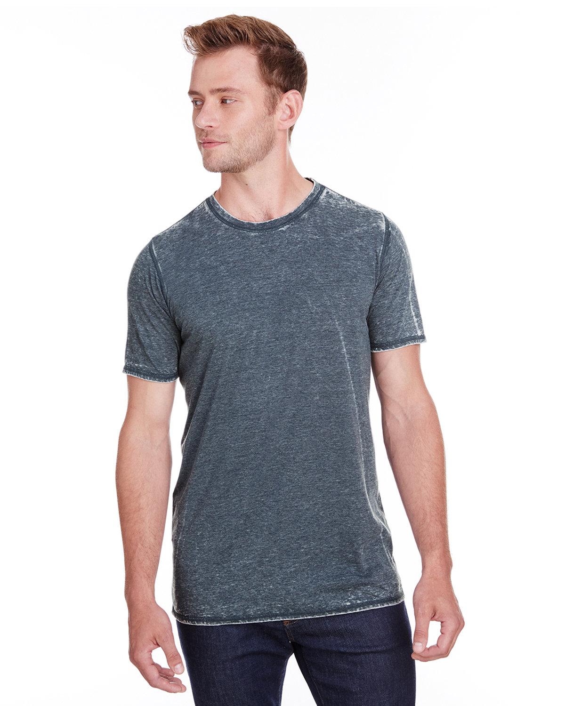 J America Adult Vintage Zen Jersey T-Shirt VINTAGE NAVY
