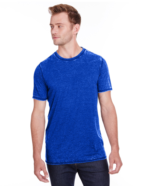 J America Adult Vintage Zen Jersey T-Shirt TWISTED ROYAL