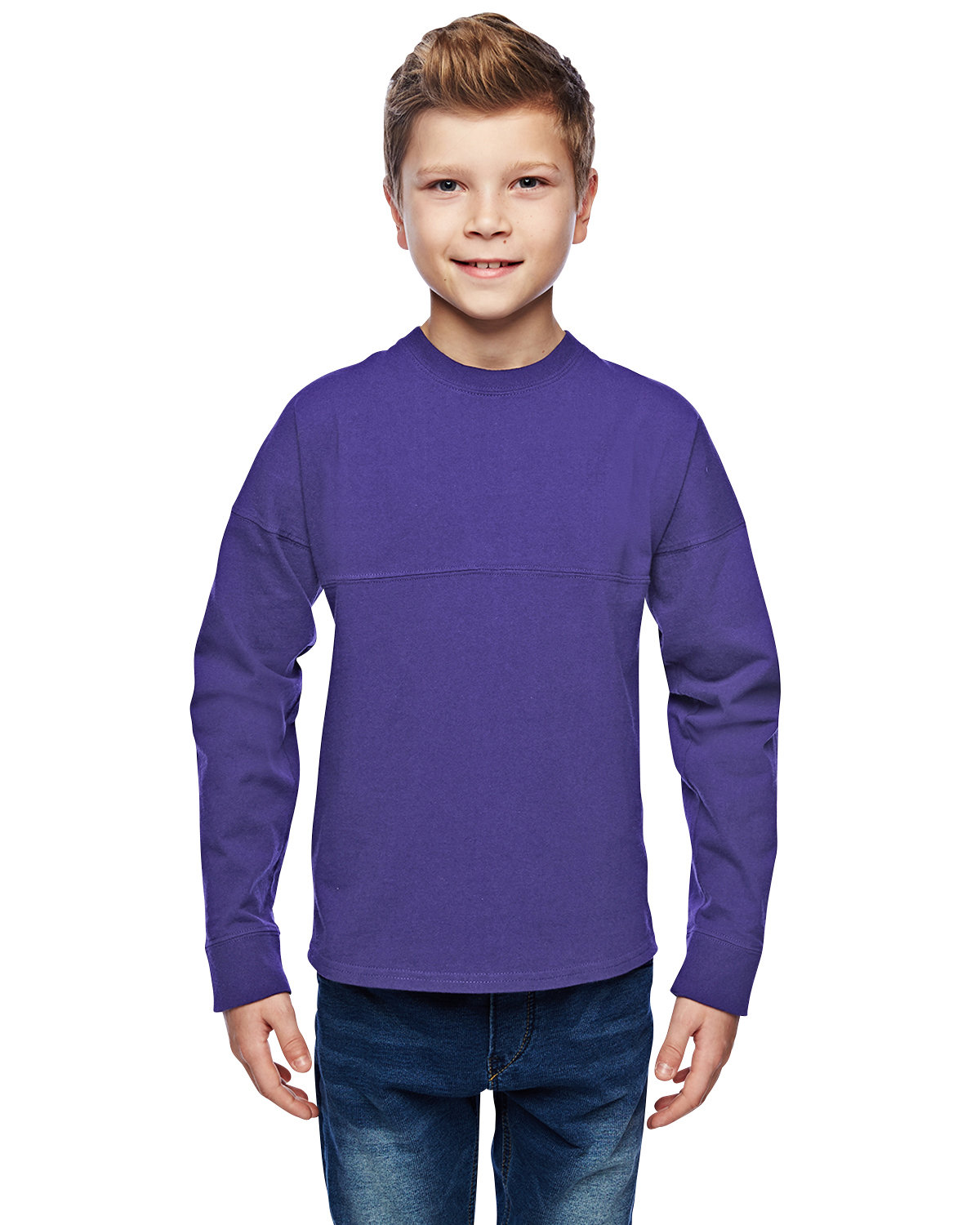 J America Youth Game Day Jersey PURPLE