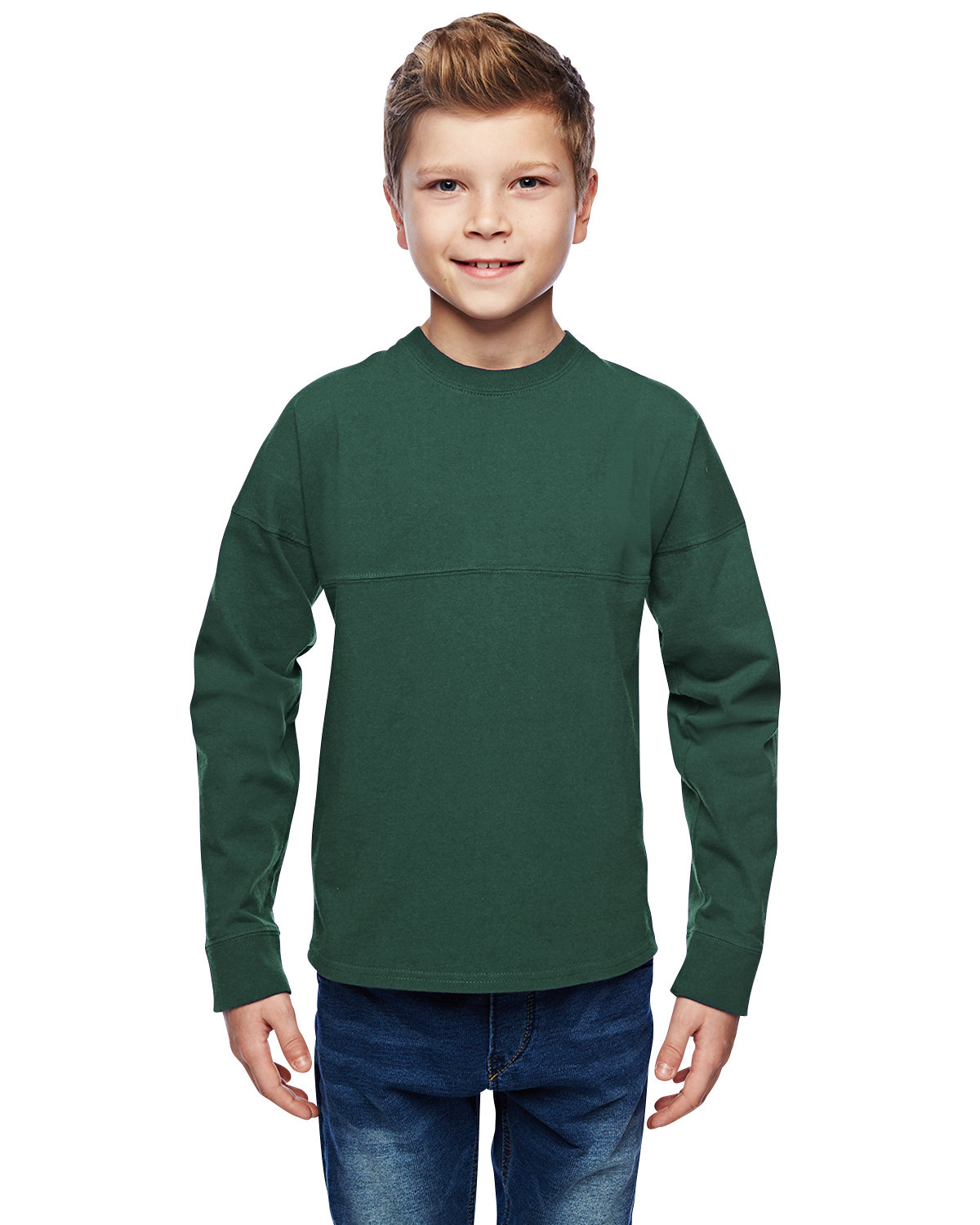J America Youth Game Day Jersey FOREST GREEN