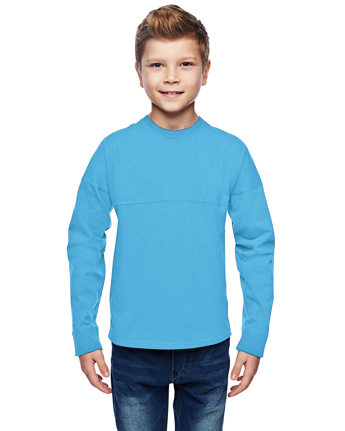 J America Youth Game Day Jersey MAUI BLUE