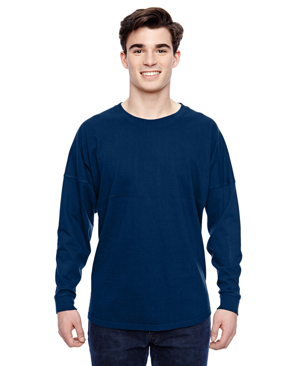 J America Adult Game Day Jersey NAVY