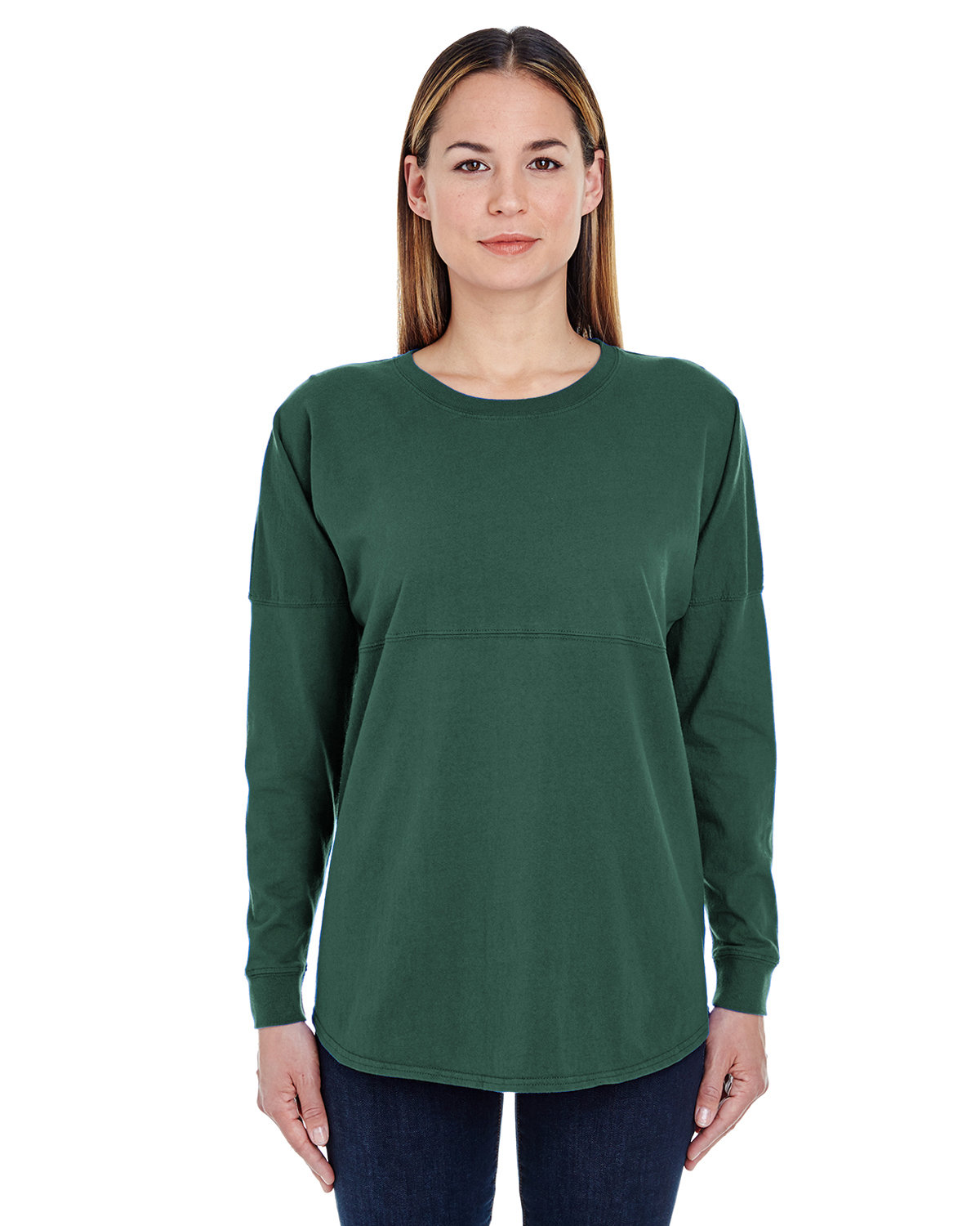 J America Adult Game Day Jersey FOREST GREEN