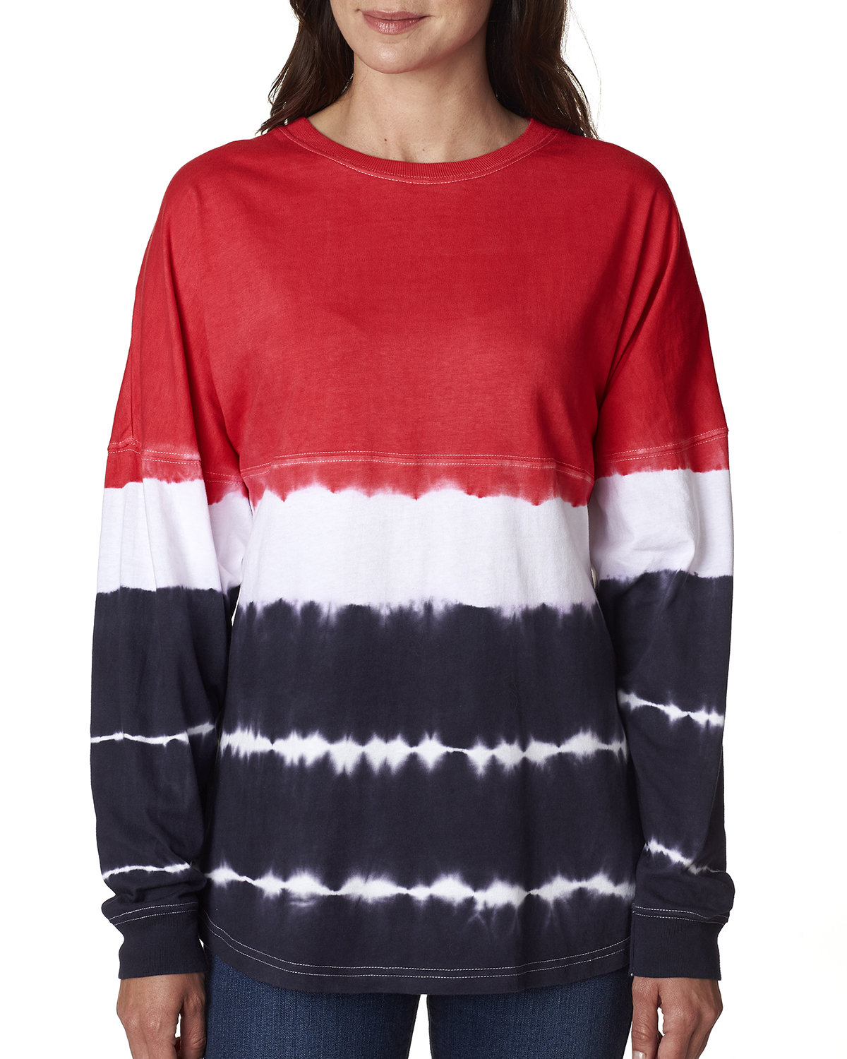 J America Adult Game Day Jersey RED/ NAVY