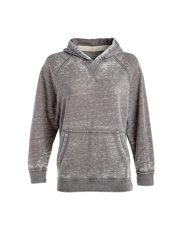 J America Youth Zen Pullover Hooded Sweatshirt CEMENT