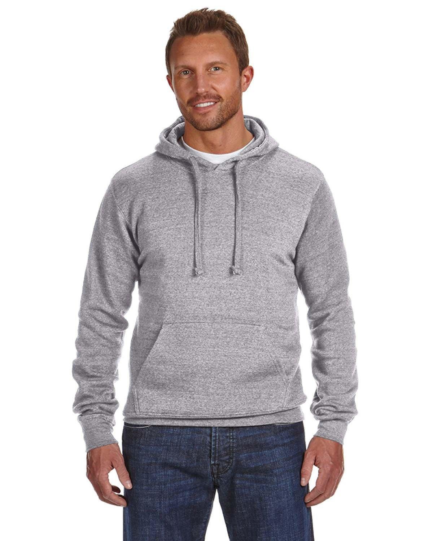 J America Adult Cloud Pullover Fleece Hooded Sweatshirt OXFORD
