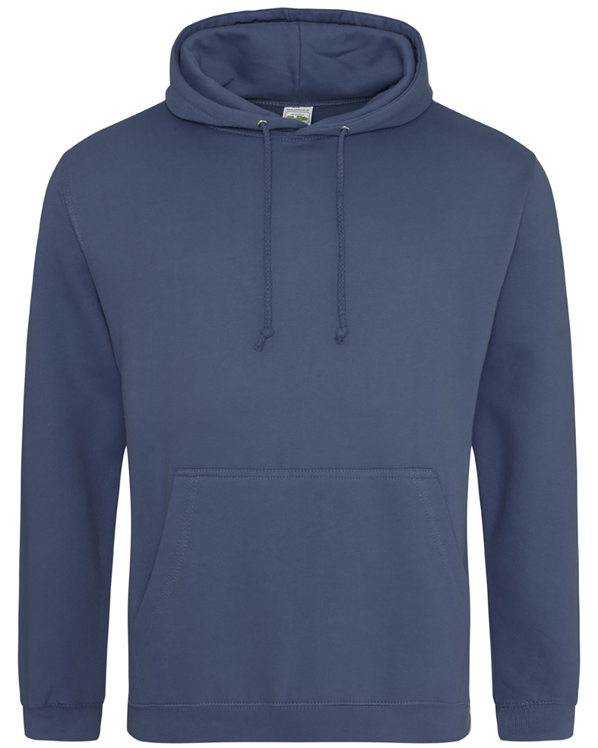Just Hoods By AWDis Men's 80/20 Midweight College Hooded Sweatshirt AIRFORCE BLUE